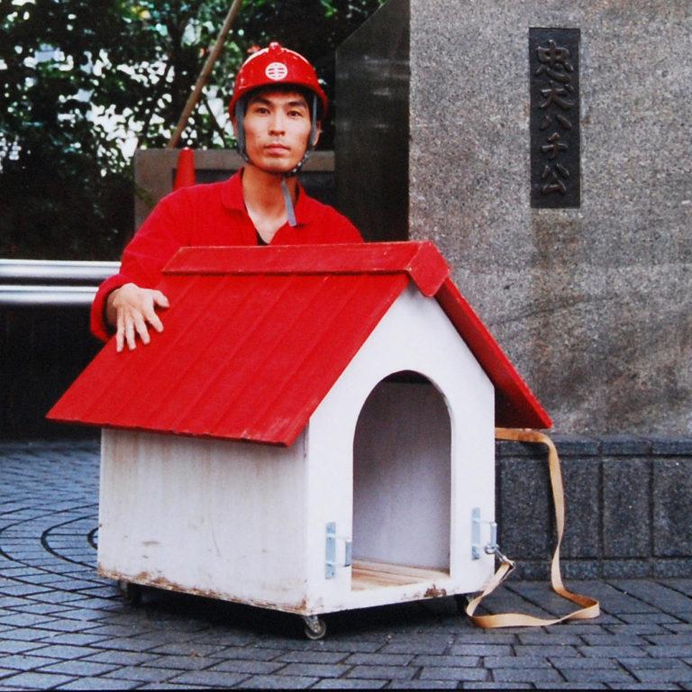 美術の中の家 第2回「犬小屋の散歩(渋谷編)」