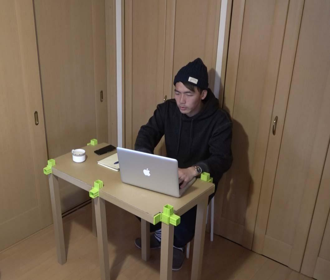 カカポでやってみた 第5回 〜可変する仕事場〜